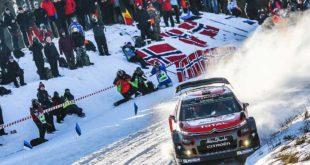 CITROËN C3 WRC İSVEÇ RALLİSİ'NE HAZIR