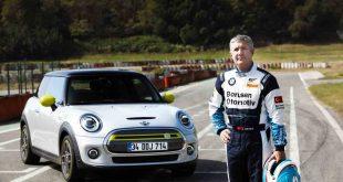 Borusan Otomotiv Motorsport'un Efsane Pilotu İbrahim Okyay, MINI ELECTRIC'i Pistte Test Etti