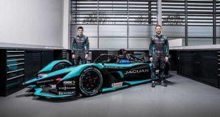 Jaguar'ın Yeni Elektrikli Yarış Otomobili I-TYPE 5 Formula E Sezonu Öncesi Tanıtıldı